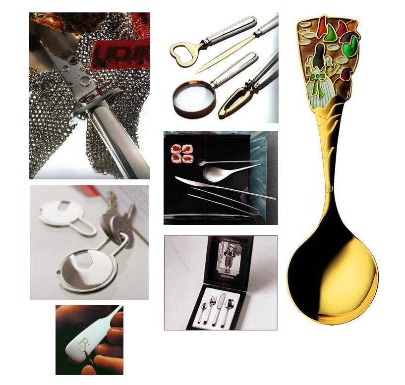 Silver gourmet cutlery & gifts