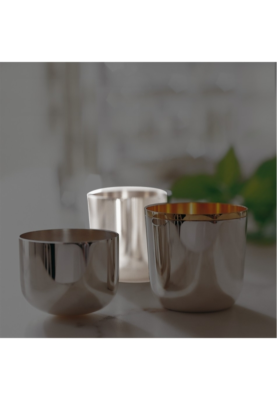 Alta silver plated 90g tumbler