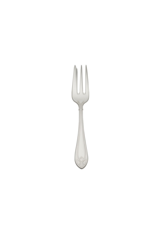 Arcade silver plated 150g cake fork
