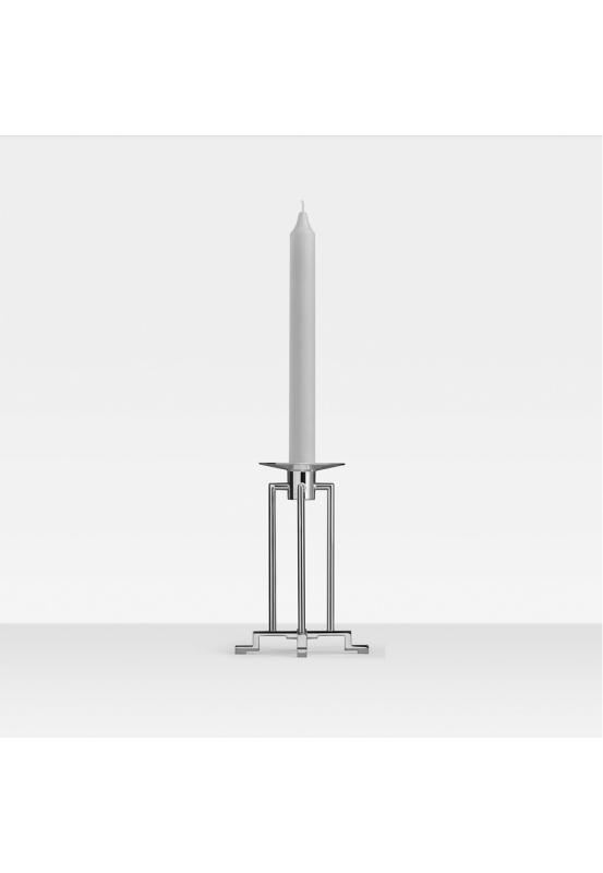 Sphinx 1-lichtiger Leuchter, 925 Sterlingsilber 16cm