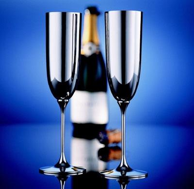 Alta  Champagnerkelch 90 versilbert