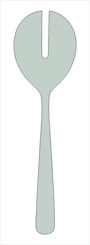 Ostfriesen 18/8 Salatgabel, groß