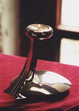 Teelichthalter 925 Sterlingsilber