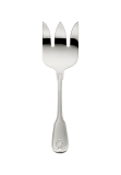 Augsburger Muschel silver plated 150g fish serving fork