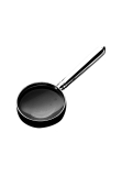 Navette silver plated 150g magnifying glass