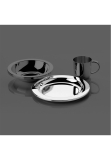 Alta silver plated 90g small plate