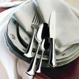 Alt-Chippendale silver plated 150g 4 piece place-setting