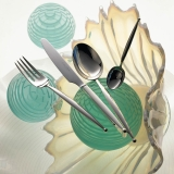 Gio sterling silver 925 4 piece place-setting
