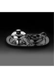 Neue Form sterling silver 925 sugar bowl