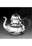 Alt Augsburg sterling silver 925 tea pot 1,3 l