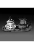 Alt Augsburg sterling silver 925 sugarr bowl, inside gold-plated