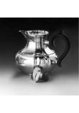 Alt Augsburg sterling silver 925 jug, inside gold-plated
