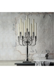 Empire sterling silver 925 candelabrum, 9 branches, 74 cm