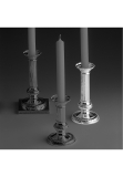 Empire sterling silver 925 candlestick, round base, 15,5 cm