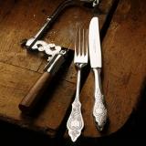 Ostfriesen 925  10-teiliges Menübesteck  - Robbe und Berking Dinner for Two