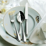Navette silver plated 150g 2 x 5 piece place- European compilation Robbe and Berking  dinner for two