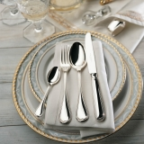 Classic-Faden silver plated 150g 2 x 5 piece place- European compilation Robbe and Berking  dinner for two