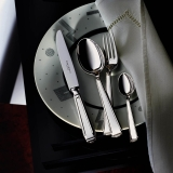 Art Deco sterling silver 925 2 x 5 piece dinner set European compilation Robbe and Berking  dinner for two