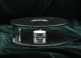 Teapot warmer, silver plated