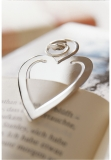 Marker heart, sterlingsilver