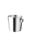 champagne bucket with handles, silver plated 90g