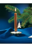 Table candlestick sterling silver 925 x-mas tree