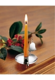 Table candlestick sterling silver 925 bell