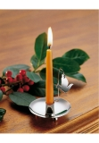 Table candlestick sterling silver 925 dove