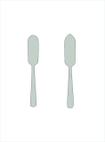 Jardin stainless steel 18/8 butter and cheese knife