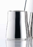 Leon tumbler, silverplated
