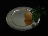 handmade plate Sterlingsilver 925 diam. 28 - 30 cm