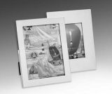dektop collection picture frame, 9 x 13, silver plated