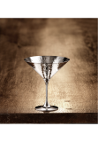 Martele cocktail coupe, silver plated