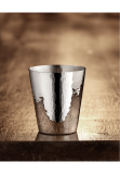 Martele Gin and water cup, silver plated