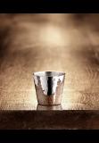 Martele vodka beaker silver plated